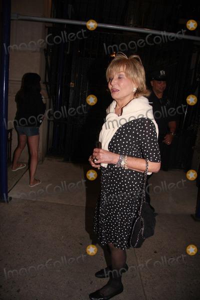 Barbara Walters Photo Shiva At Joan Rivers Apartment In New York City On Sunday September