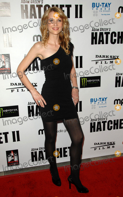 Kathryn Fiore Photo - Kathryn Fiore attending the Los Angeles Premiere of Hatchet Ii Held at the Egyptian Theatre in Hollywood California on September 28 2010 Photo by D Long- Globe Photos Inc 2010