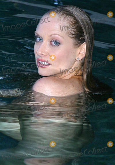 Amanda Rushing Photo - - Exclusive - Poolside with Playboy Cybergirl - Amanda Rushing - Jim Goldstein Estate Beverly Hills CA - 08082003 - Photo by Clinton H Wallace  Ipol  Globe Photos Inc 2003 - Amanda Rushing