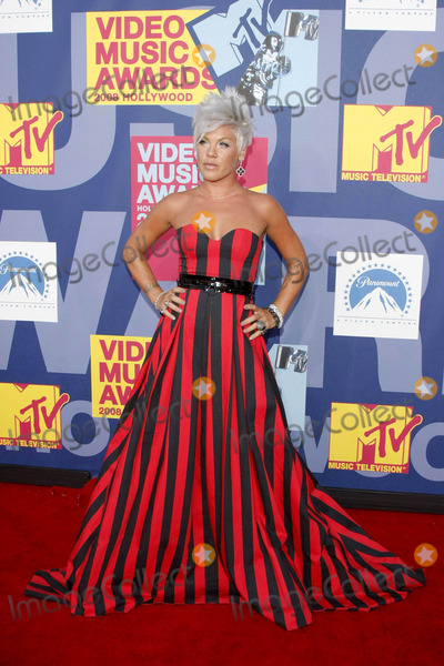 Alecia Moore Photo - the 2008 Mtv Music Video Awards Arrivalsheld at Paramount Pictures Studio Lothollywood California 09-07-2008 Photo by Alec Michael-Globe Photos Inc2008 Pink Alecia Moore