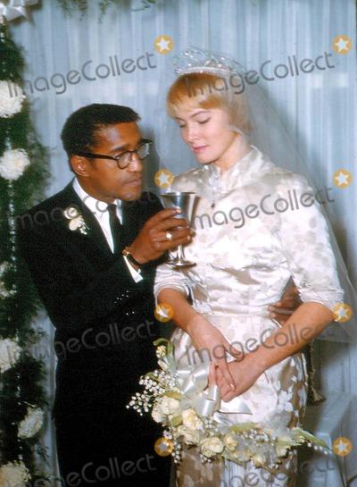 Mai Britt Photo - Sammy Davis Jr and May Britt Wedding Photo by Russ MeyerGlobe Photos Inc