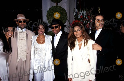 Jimmy Jam Photo - 66th Oscar Awards Jimmy Jam Karyn White with Terry Lewis Janet Jackson and Rene Elizondo Photo Michael Ferguson - Globe Photos Inc