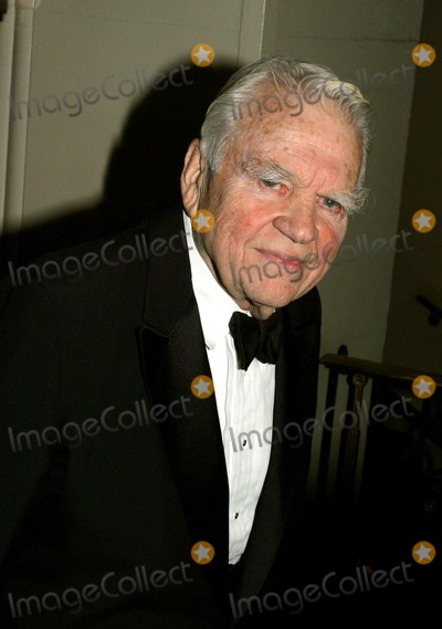 Andy Rooney Photo - Journalist Awards Waldorf-astoria Hotelnew York City New York City11262002 Photo by Rick MacklerrangefinderGlobe Photos Inc