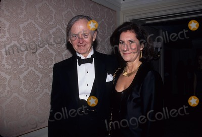 Tom Wolfe Photo - Tom Wolfe with Wife Sheila at 13th Wnets 2nd Annual Salute to Great Chefs and Sommeliers St Regis Hotel Penthouse New York 1999 K14594smo Photo by Sonia Moskowitz-Globe Photos Inc