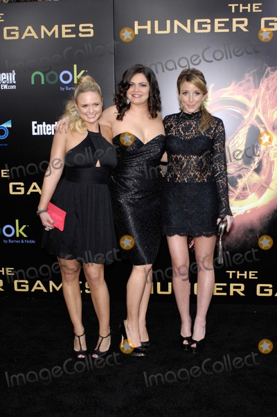Ashley Monroe Photo - Miranda Lambert Angaleena Presley and Ashley Monroe During the Premiere of the New Movie From Lionsgate the Hunger Games Held at the Nokia Theater LA Live on March 12 2012 in Los Angeles Photo Michael Germana  Superstar Images - Globe Photos