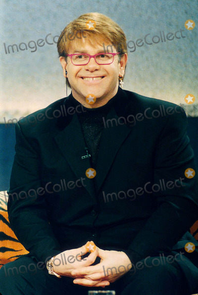 Elton John Photo - Elton John in a German Tv Show 12-14-1997 Photo by Dpa-ipol-Globe Photos Inc