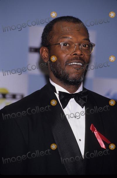 Samuel Jackson Photo - Samuel Jackson Cable Ace Awards 1995 K0387lr Photo by Lisa Rose-Globe Photos Inc