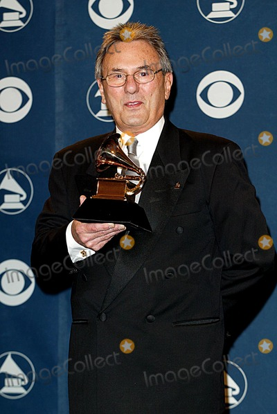 Al Schmitt Photo -  44 Annual Grammy Awards Staple Center LA CA 02272002 AL Schmitt Photo by Fitzroy BarrettGlobe Photosinc2002 (D)