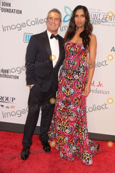 Andy Cohen Photo - Andy Cohenpadma Lakshmi at 14th Annual Elton John Aids Foundation Enduring Vision Benefit at Cipriani Wall St 11-2-2015 John BarrettGlobe Photos
