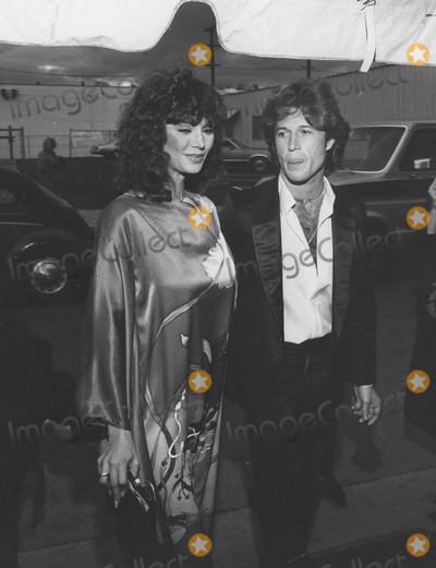 Andy Gibb Photo - Victoria Principal with Andy gibbphoto by smp-globe Photos Inc