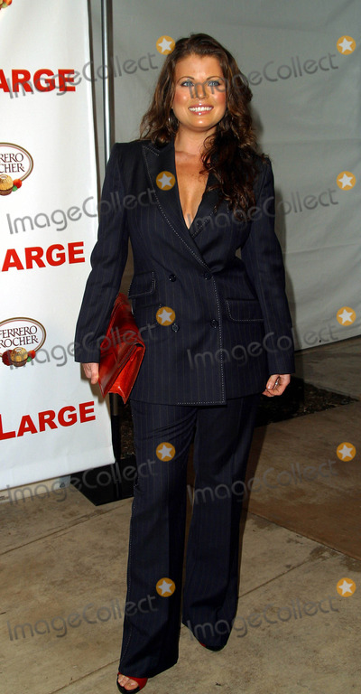 Yasmine Bleeth Photo - Yasmine Bleeth Carmen Electras Engagement Party - Pacific Design Center Los Angeles CA - February 13 2003 - Photo by Nina PrommerGlobe Photos Inc2003