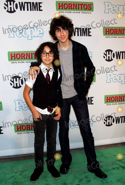 Naked Brothers Photo - The Naked Brothers Band - Nat (R) and Alex Wolff Arrive For the Premiere of Bon Jovi When We Were Beautiful at the Sva Theater in New York on October 21 2009 Photo by Sharon NeetlesGlobe Photos Inc