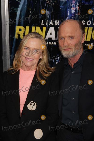 Amy Madigan Photo - Ed Harrisamy Madigan at NY Premiere of Run All Night at Amc Lincoln Square 3-9-2015 John BarrettGlobe Photos