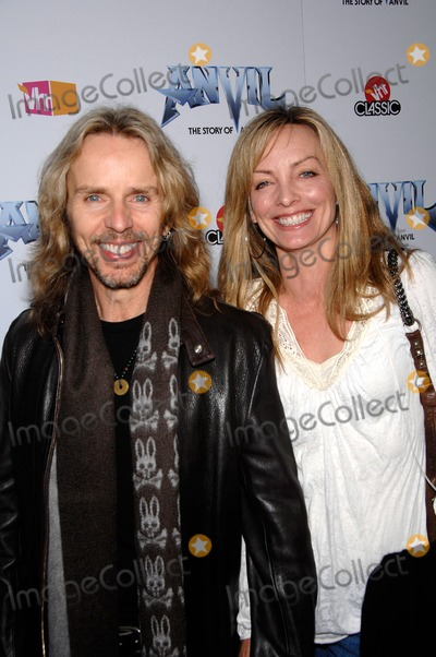 Anvil Photo - Tommy and Jean Shaw During the Premiere of the New Movie Anvil the Story of Anvil  Held at the Egyptian Theatre on 04-07-2009 in Los Angeles Photo Michael Germana- Globe Photos