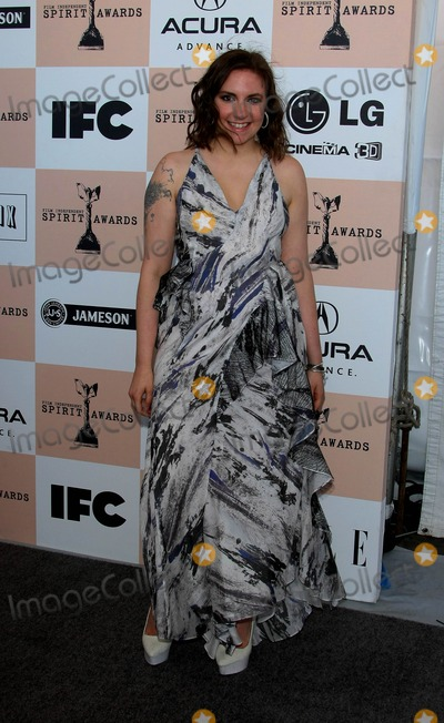 Lena Dunham Photo - Lena Dunham Actress and Writer 2011 Film Independent Spirit Awards - Arrivals Santa Monica Pier Santa Monica CA 02-26-2011 photo by Graham Whitby Boot-allstar - Globe Photos Inc 2011