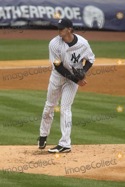 AJ Burnett Photo - Aj Burnett at Yankees Vs Minnesota Twins Game at Yankee Stadium 4-7-11 Photo by John BarrettGlobe Photos Inc