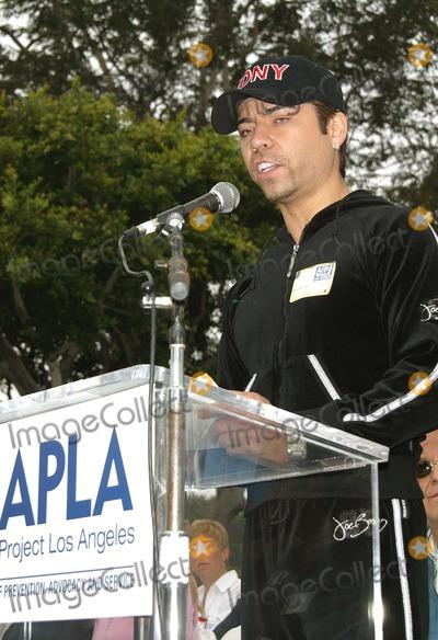 Rudy Galindo Photo - Rudy Galindo K26843mr 18th Annual Aids Walk Los Angeles Opening Ceremony at Santa Monica and San Vicente Blvd Los Angeles CA Oct 20 2002 Photo by Milan RybaGlobe Photos Inc