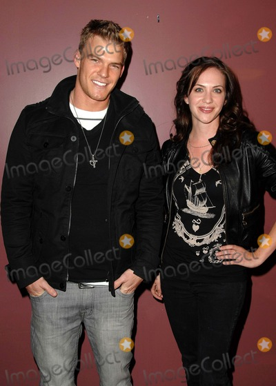 Alan Ritchson Photo - Premiere Screening of Steam at Laemmles Sunset 5 in West Hollywood CA 03-13-2009 Image Alan Ritchson and Kate Siegel Photo Scott Kirkland  Globe Photos