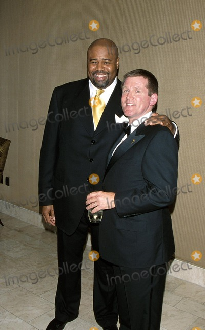 Anthony Heald Photo -  23rd Annual College Television Awards St Regis Hotel Century City CA 03172002 Anthony Heald and Chi Mcbride Photo by Milan RybaGlobe Photosinc