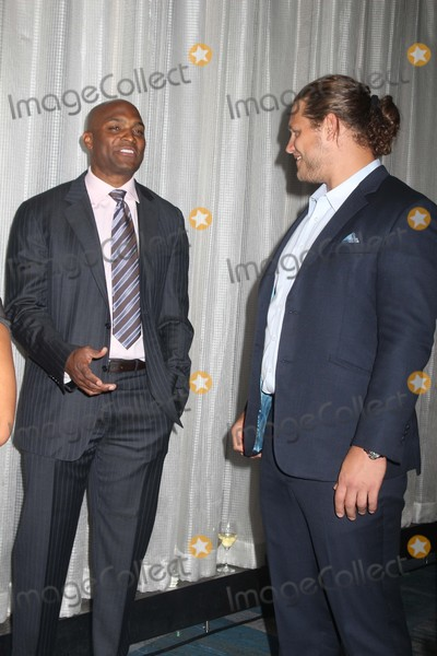 Amani Toomer Photo - Exclusive L-r Amani Toomer Markus Kuhn attends the 22nd Annual Gridiron Gala at New York Hilton Midtown on 5122015 in NYC