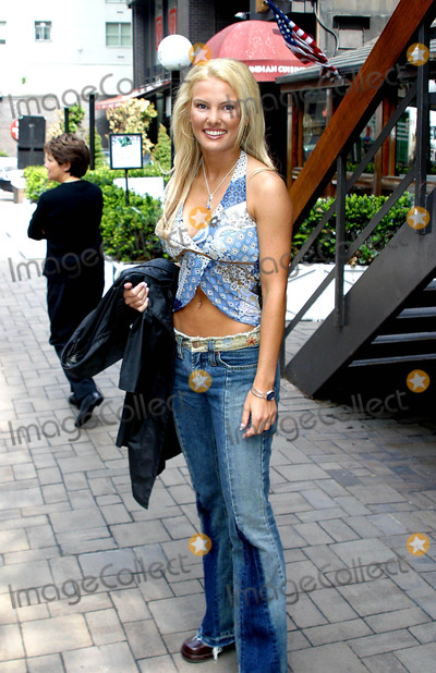 Heidi Strobel Photo - Sd0509 Exclusive Heidi Strobel Survivor Outcast Leaving the Howard Stern Show New York City Photorick Mackler  Rangefinders  Globe Photos Inc