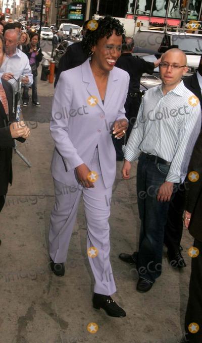 Jackie Joyner-Kersee Photo - Sports Icons Representing Atheletes For Hope Leave Good Morning America Times Square New York City 04-25-2007 Photos by Rick Mackler Rangefinder-Globe Photos Inc2007 Jackie Joyner-kersee