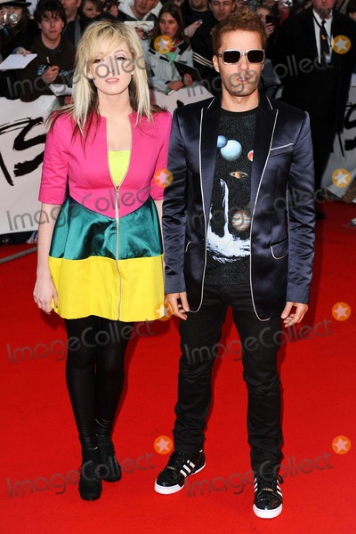 The Ting Tings Photo - Uk Band the Ting Tings Jules De Martino and Katie White Arrive at the Brit Awards 2009 at Earls Court in London Great Britain on February 18th 2009photo by Alec Michael-Globe Photos