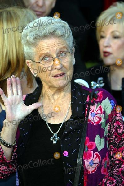 Ann B Davis Photo - Ann B Davis Abc 50th Anniversary Celebration - Arrivals Pantages Theatre Hollwood CA 03162003 Photo by MichaelGlobe Photos