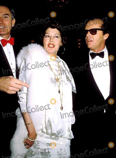 Ava Gardner Photo - Ava Gardner and Jack Nicholson E8279 PhotoGlobe Photos Inc
