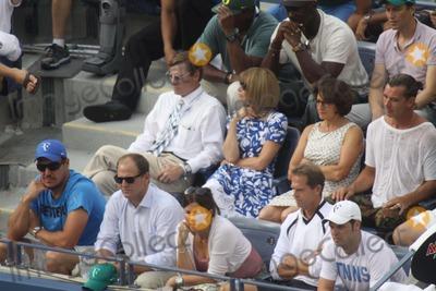 Group Shot Photo - Group Shot Celebrity at Day 12 of Tennis Us Open at Arthur Ashe Stadium 9-6-2014 John BarrettGlobe Photos