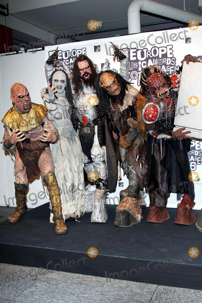 Lordi Photo - Lordi Mtv Europe Music Awards (Press Room) Bella Center Copenhagen Denmark 11-02-2006 Photo Alec MichaelGlobe Photos Inc 2006