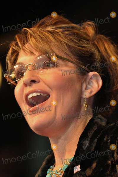 Alaska  Photo - --Former Alaska Governor and Fox News Talk Show Host Sarah Palin Addresses a Crowd of About 2500 at a Campaign Rally For Incumbent Texas Governor Rick Perry in Cypresstexas On272010 K64280jn Photo by Jeff J Newman-Globe Photos Inc
