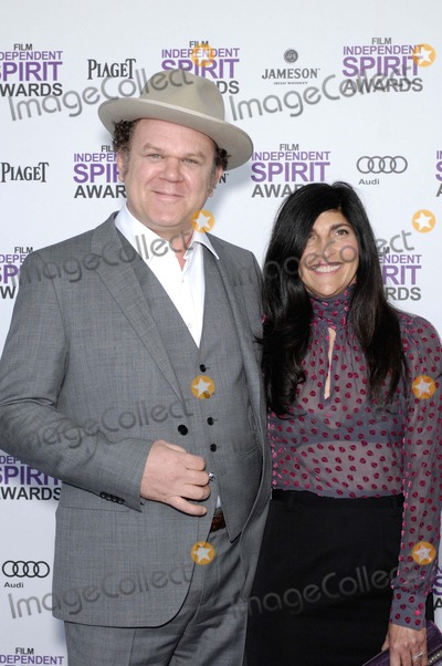 Alison Dickey Photo - John C Reilley and Alison Dickey During the 2012 Film Independent Spirit Awards Held on the Beach at Santa Monica California on February 25 2012 Photo Michael Germana  Superstar Images - Globe Photos