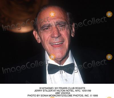 Abe Vigoda Photo -  NY Friars Club Roasts Jerry Stiller at Hilton Hotel NYC 100199 Abe Vigoda Photo by Sonia MoskowitzGlobe Photos Inc