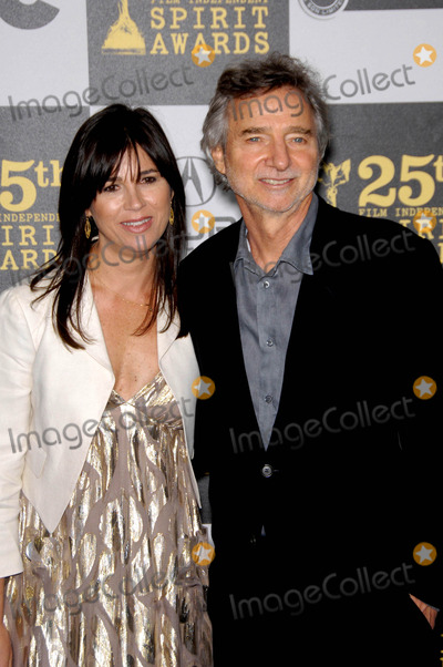 Curtis Hanson Photo - Rebecca Yeldham and Curtis Hanson During the 25th Film Independents Spirit Awards Held at the Nokia Event Deck at LA Live on March 5 2010 in Los Angeles Photo Michael Germana - Globe Photos Inc