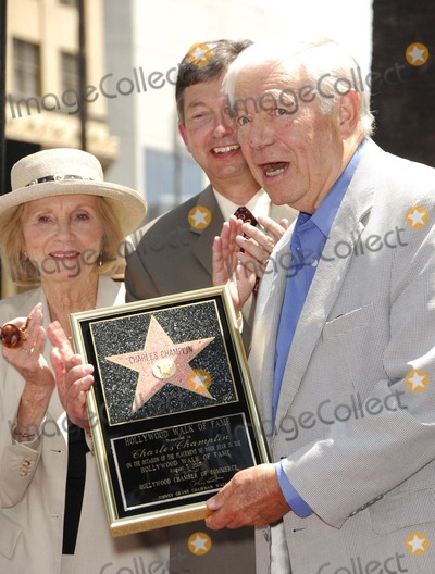Charles Champlin Photo - Eva Marie Saint Leron Gubler and Charles Champlin During a Ceremony Honoring Film Critic Charles Champlin with a Star on the Hollywood Walk of Fame on August 3 2007 in Los Angeles Photo by Michael Germana-Globe Photosinc