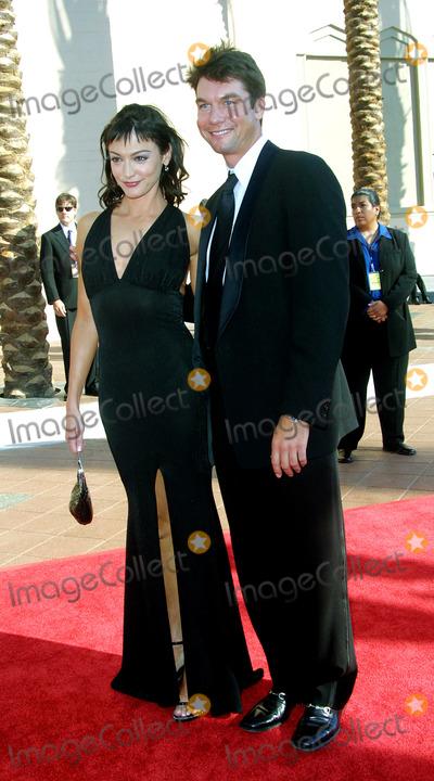 Nancy Pimental Photo - Jerry Oconnell and Nancy Pimental 2002 Primetime Creative Arts Emmy Awards Shrine Auditorium Los Angeles CA September 14 2002 Photos by Nina PrommerGlobe Photos Inc2002
