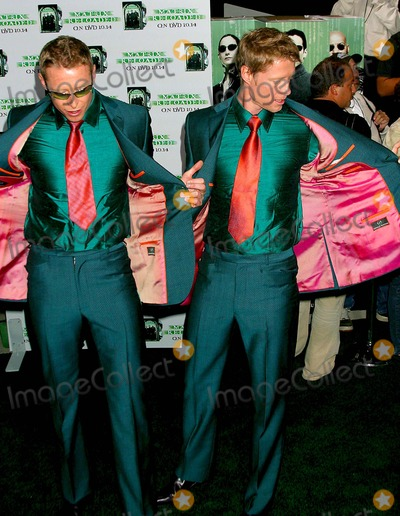 Adrian Rayment Photo - the Matrix Reloaded - Dvd Launch Party at Mortons West Hollywood CA 10082003 Photo by Clinton H Wallace  Ipol  Globe Photos Inc 2003 Adrian Rayment and Neil Rayment