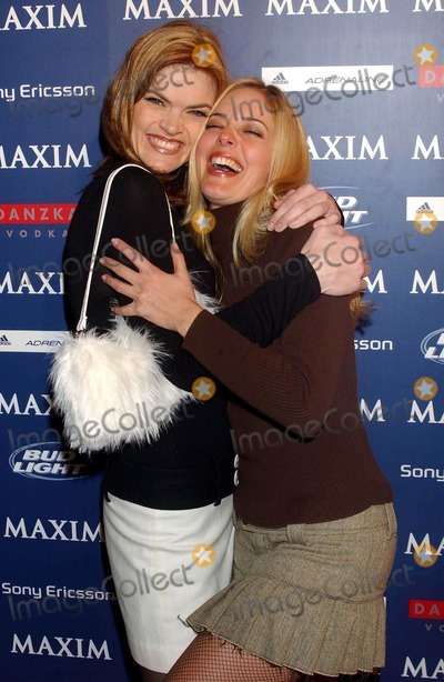 Michelle Branch Photo - Maxim Sno Party Hosted by January Cover Girl Michelle Branch 289 Tenth Avenue New York City 12102003 Photo by Ken BabolcsayipolGlobe Photos Inc Missy Pyle and Christine Moore