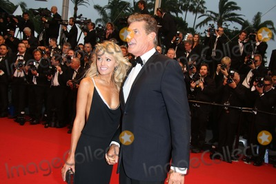 Hayley Roberts Photo - Actor David Hasselhoff and Hayley Roberts Attend the Premiere of the Great Gatsby During the 66th International Cannes Film Festival at Palais Des Festivals in Cannes France on 15 May 2013 Photo Alec Michael Photo by Alec Michael - Globe Photos Inc