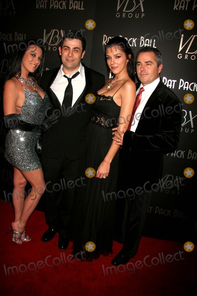 Adrienne Curry Photo - the First Annual Rat Pack Ball West Sunset Blvd Hollywood CA 12-12-2006 Taimie Phil Viardo with Adrienne Curry and Christopher Knight Photo Clinton H Wallace-photomundo-Globe Photos Inc