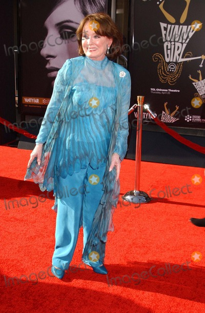Ann Blyth Photo - Ann Blyth attends the Classic Film Festival at the Chinese Theater in Hollywoodca on April 252013 Photo by Phil Roach-ipol-Globe Photos