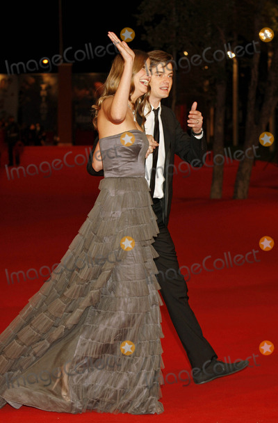 Alexandra Maria Lara Photo - Alexandra Maria Lara and Husband Sam Riley K63456rharv the Premiere of the City of Your Final Destination at the 4th Rome International Film Festival in Rome  Italy 10-16-2009 Photo by Roger Harvey-Globe Photos Inc