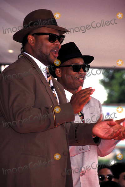 Jimmy Jam Photo - Terry Lewis and Jimmy Jam Receiving a Star on the Hollywood Walk of Fame 1993 Photo by Lisa Rose-Globe Photos