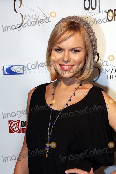 Anya Monzikova Photo - Anya Monzikova arrives at the red carpet of the premiere of Out in the Open