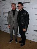 Photo - 20 January 2018 - Hollywood California - Jesse Tyler Ferguson Dan Levy 2018 Entertainment Weekly Pre-SAG Awards Party held at Chateau Marmont Photo Credit Birdie ThompsonAdMedia