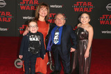 Annabelle Davis Photo - 09 December 2017 - Los Angeles California - Harrison Davis Samantha Davis Warwick Davis and Annabelle Davis Premiere Of Disney Pictures And Lucasfilms Star Wars The Last Jedi held at The Shrine Auditorium Photo Credit F SadouAdMedia