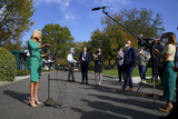 Photo - White House Press Secretary Kayleigh McEnany Speaks with Reporters