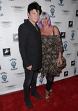 Gary Numan Photo - 02 September  2015 - Beverly Hills California - Gary Numan Gemma Numan VIP Reception for the opening of Dis-Ease the fine art of Billy Morrison held at The Mouche Gallery Photo Credit Birdie ThompsonAdMedia