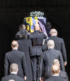 Peter Phillips Photo - Photo Must Be Credited Alpha Press 073074 17042021Princess Anne Princess Royal Prince Charles Prince of Wales Prince Andrew Duke of York Prince Edward Earl of Wessex Prince William Duke of Cambridge Peter Phillips Prince Harry Duke of Sussex follow Prince Philip Duke of Edinburghs coffin is carried in during the funeral of Prince Philip Duke of Edinburgh at St Georges Chapel in Windsor Castle in Windsor Berkshire No UK Rights Until 28 Days from Picture Shot Date AdMedia